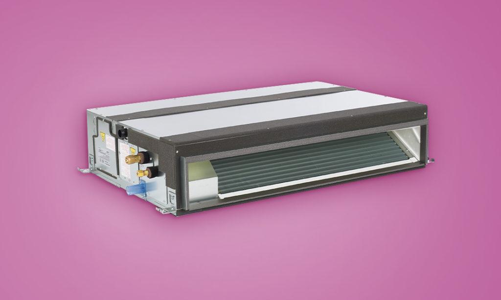 mitsubishi horizontal ducted