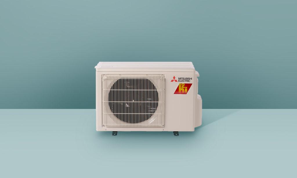 mitsubishi single zone cooling and heating
