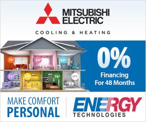 mitsubishi hvac financing special